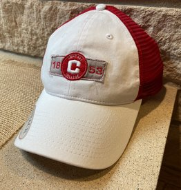 GAME Game G131 Trucker White/Red Snap