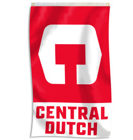 UBF UBF Flag 3x5 C Central Dutch