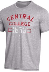 UA UA Bi-Blend Tee True Gray Heather