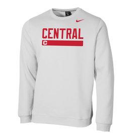 Nike Nike Club Fleece Disc C Crew White