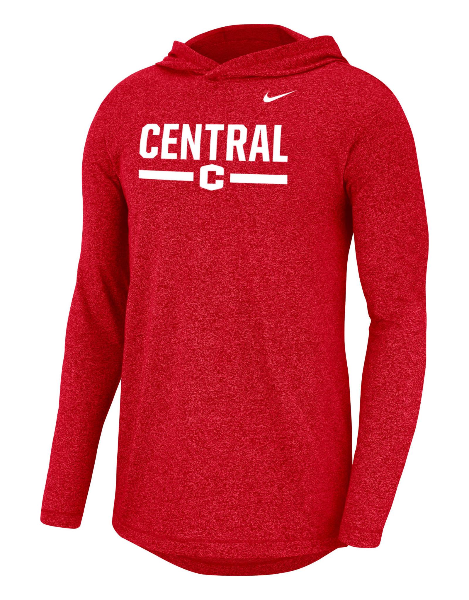 Nike Nike Marled Hood Red