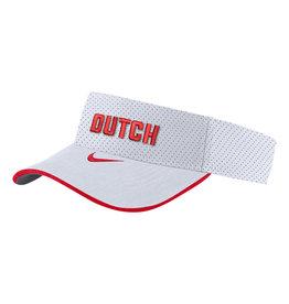 Nike Nike Visor White Red Dutch