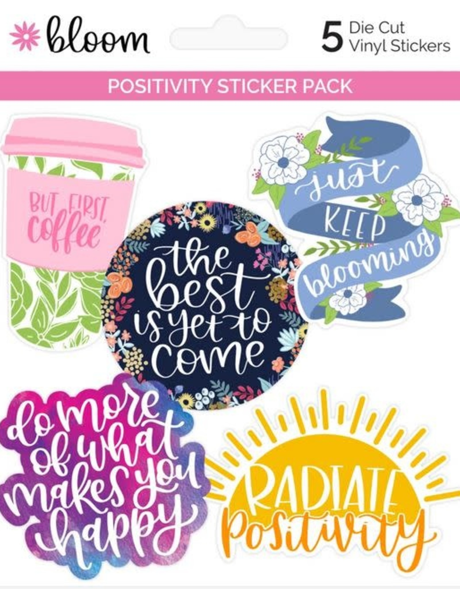Bloom Bloom Decals