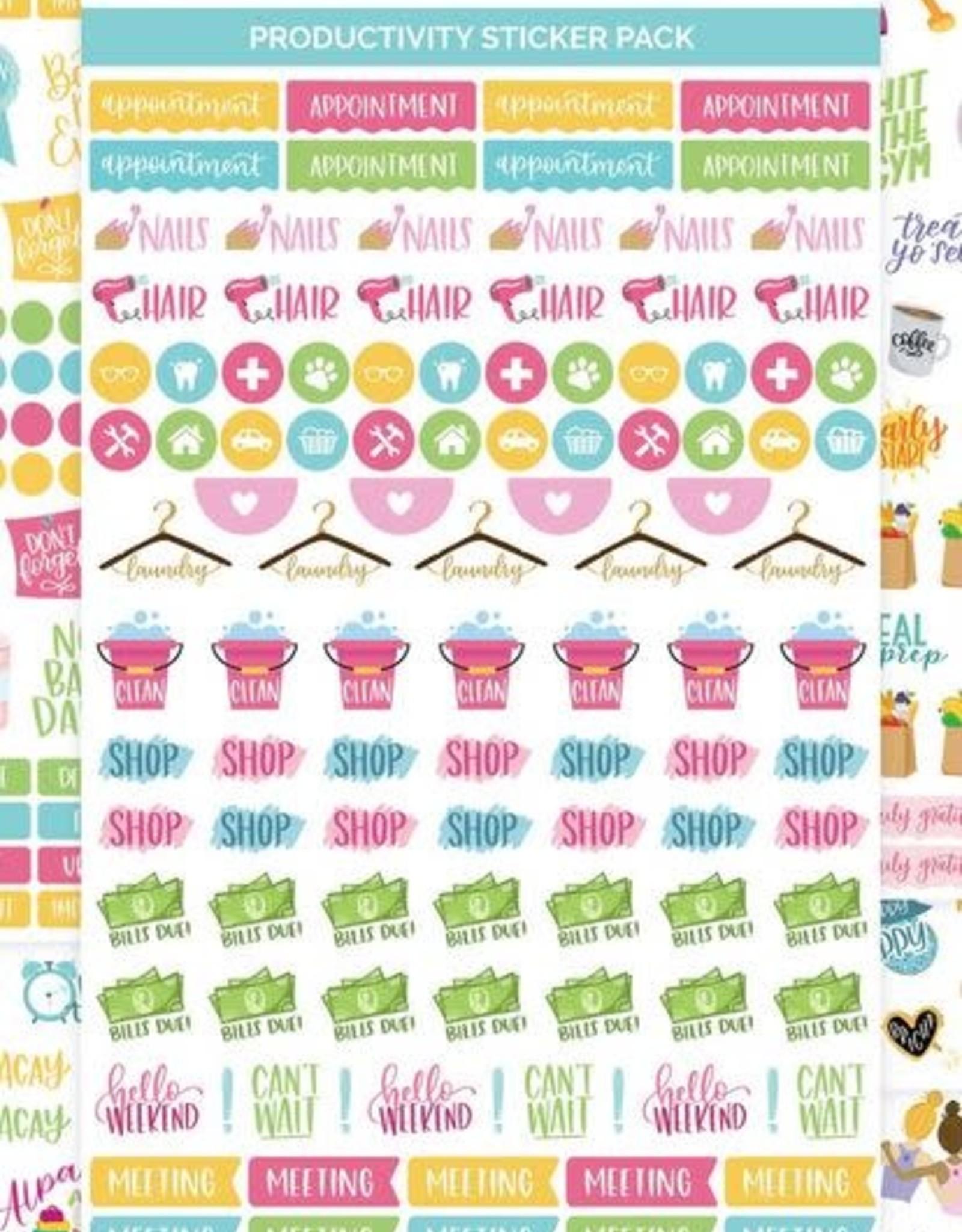 Bloom Bloom Planner Sticker