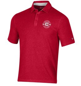 UA UA Charged Cotton Polo Red