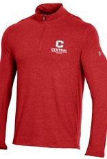 UA UA Charged Cotton 1/4 Zip C Logo Flawless
