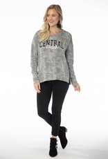Flying Colors Flying Colors Brandy Top Gray