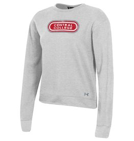 UA UA Women's All Day Retro Crew Gray