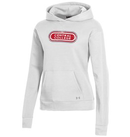 UA UA Core Cotton Hood Retro White
