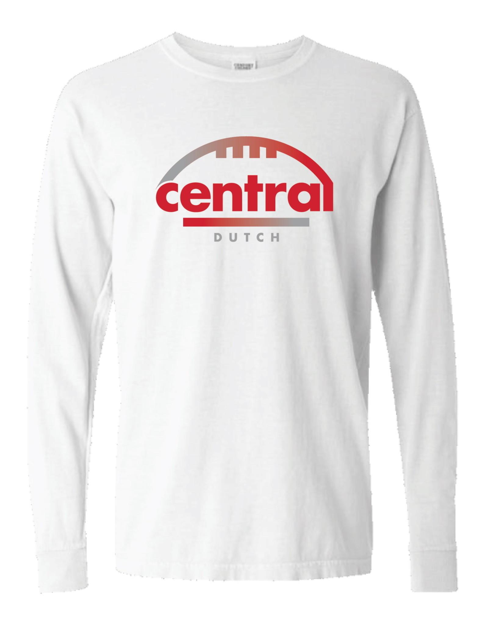 SUMMIT Summit Comfort Color White Football LS