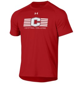 UA UA Tech Tee Flawless C Lines Central