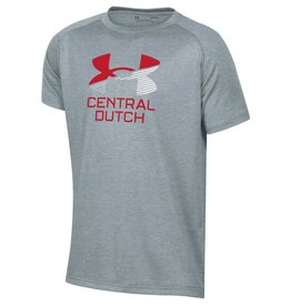 UA UA  Tech Tee Gray UA Stripe