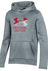 UA UA Youth Armour Fleece Gray UA Stripes