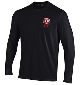 UA UA Performance Cotton LS Black