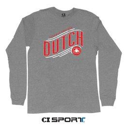CISPO CI Sport Dutch Slant Tee LS Gray