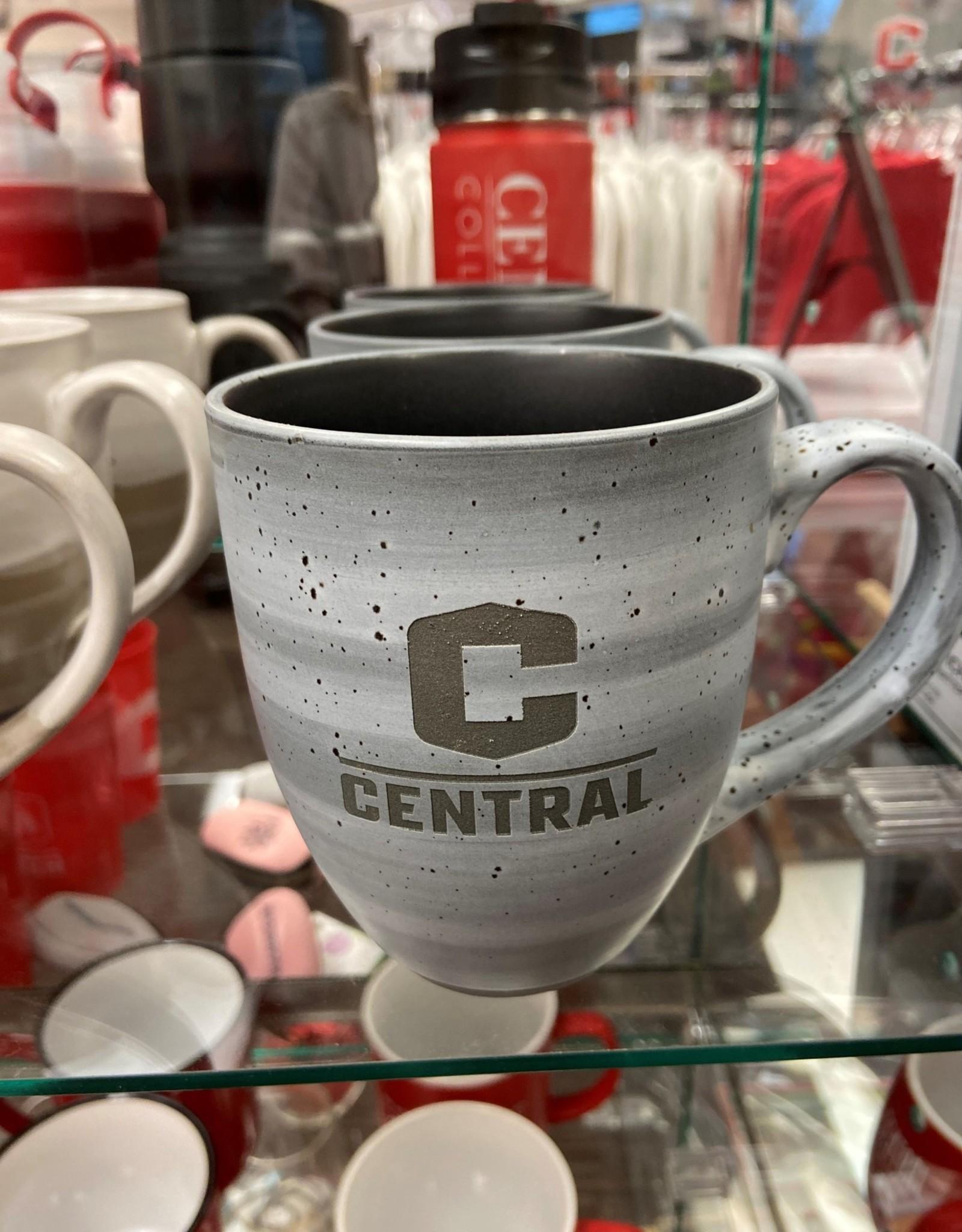 LXG LXG Ceramic Mug C Logo Gray