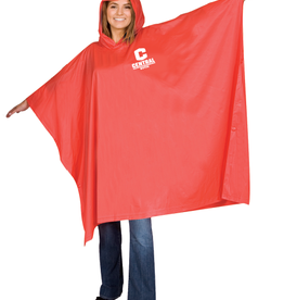 Storm Duds Storm Duds Hooded Poncho Red