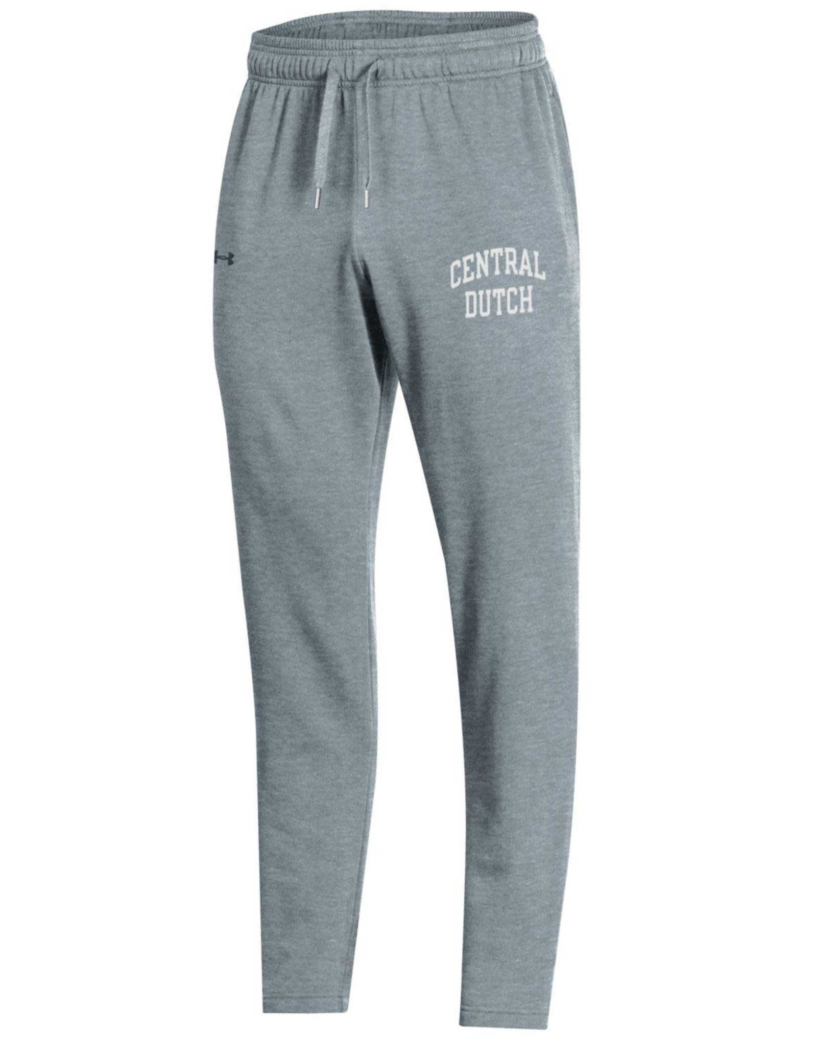 UA UA All Day Open Bottom Pant Gray Heather