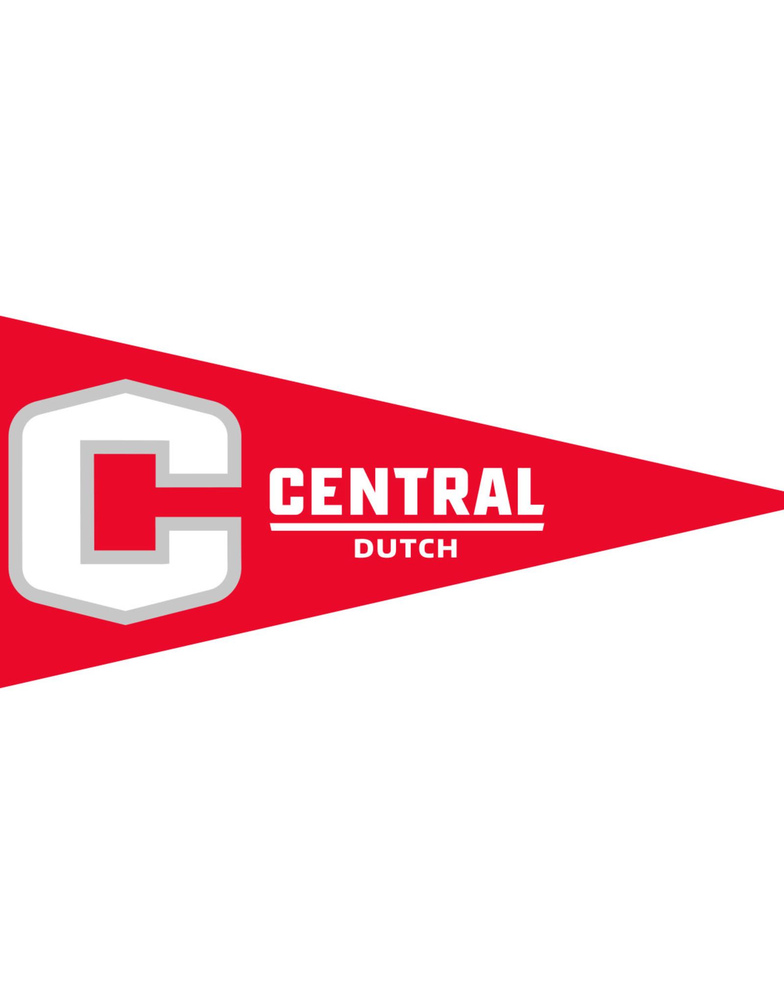 """UBF UBF Pennant C Logo 4""""x9"""""""
