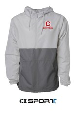 Independent Trading Co CI Sport 1/4 Zip Windbreaker Smoke/Graphite