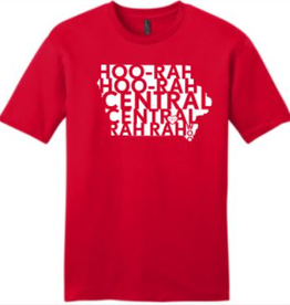 District District Made HooRah Tee Red