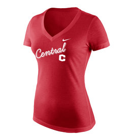 Nike Nike V-neck Women's Tee Red
