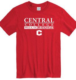 New Agenda New Agenda Grandpa Tee C Logo Red