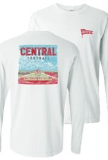 Comfort Colors Comfort Colors LS Tee Football Stadium White
