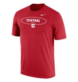 Nike Nike Dri-Fit Tee Oval C Red