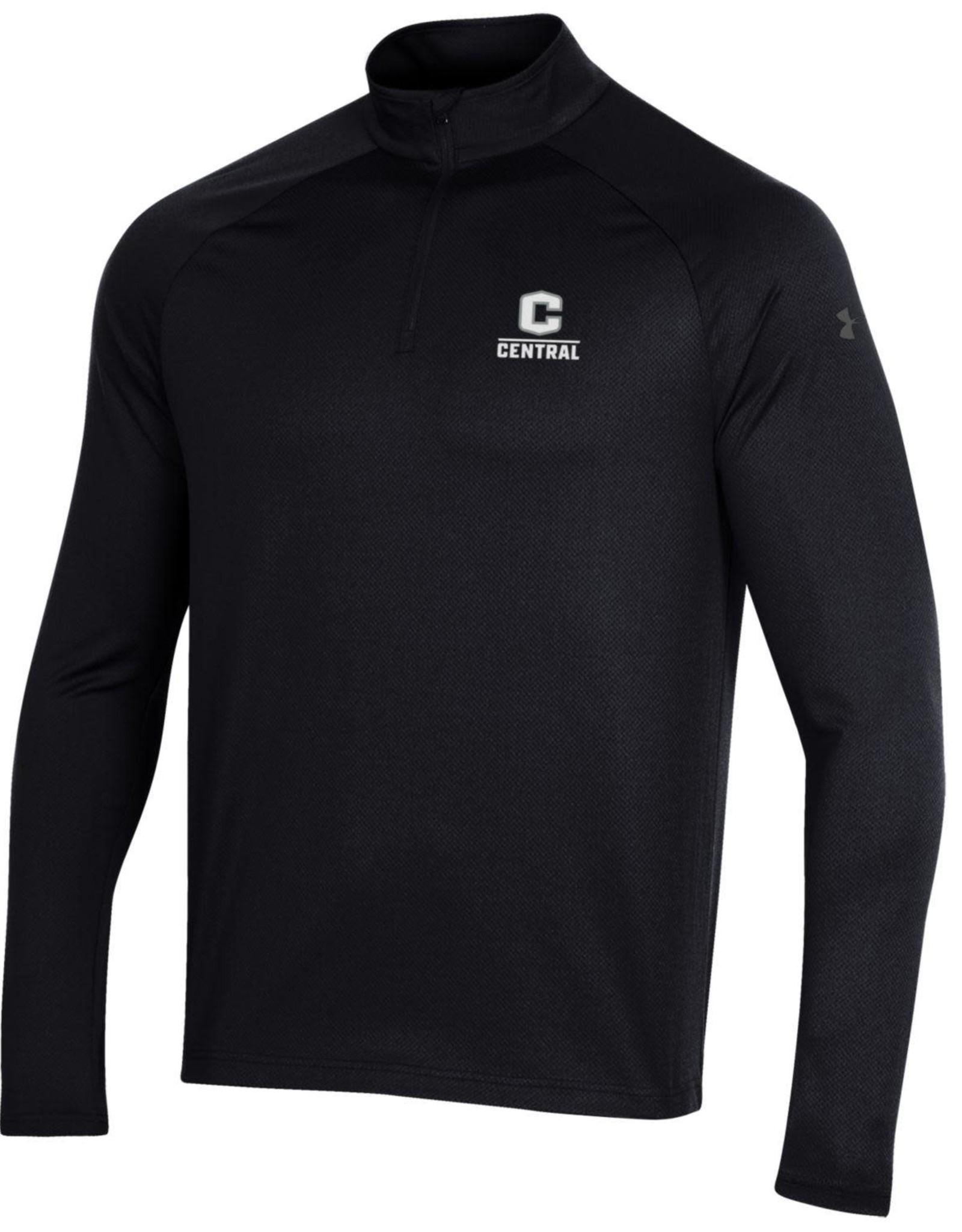 UA UA Performance 2.0 1/4 zip C Logo Black