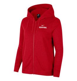 Nike Nike Women's Varsity Fleece FZ Hood Red
