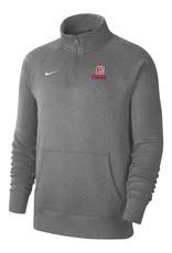Nike Nike Club Fleece 1/4 Zip Heather Gray