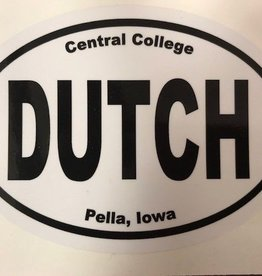 CSCAR Car Stickers Oval laptop sticker Dutch