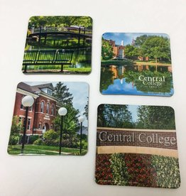 PHOTO Photographx Coaster Campus Set of 4