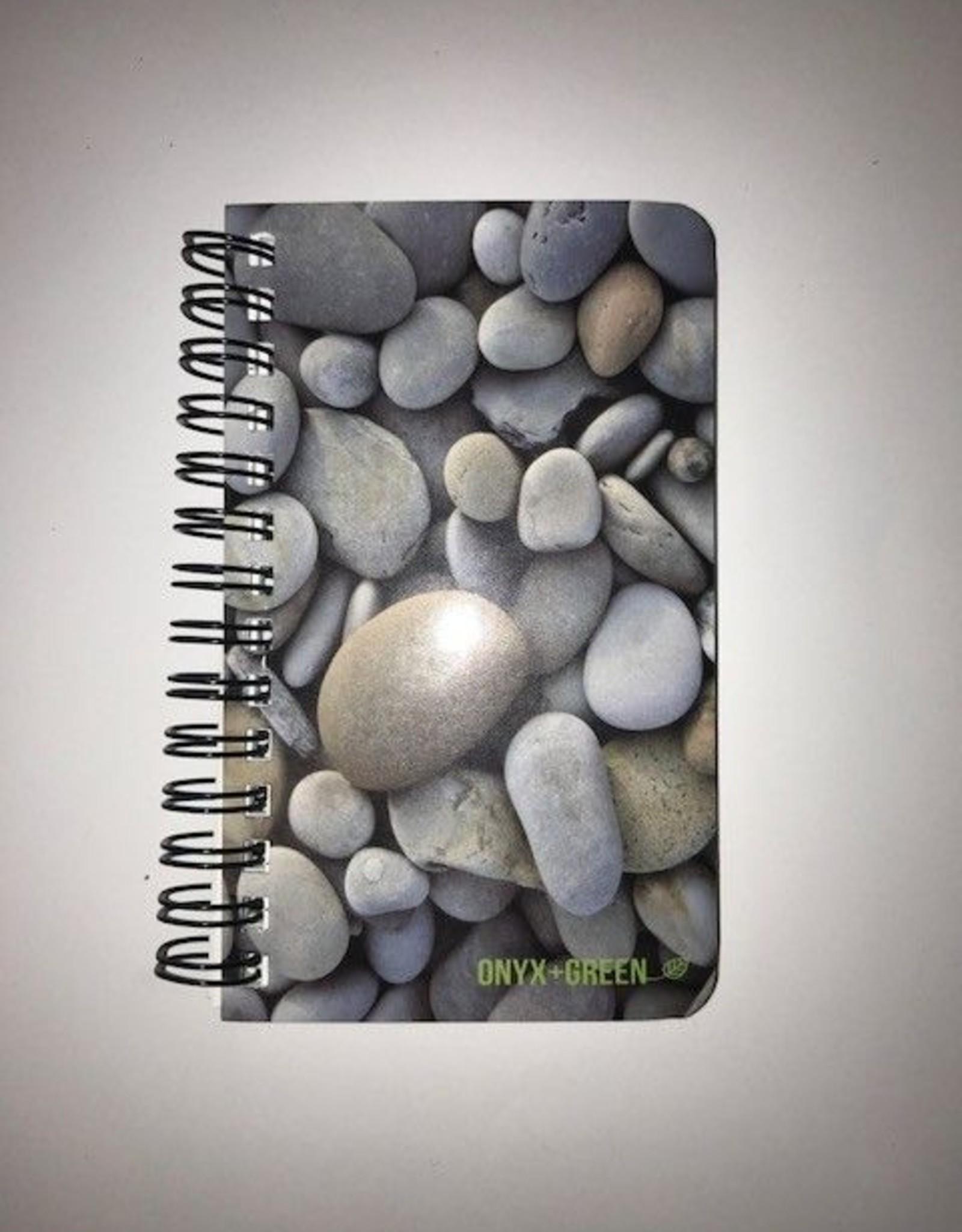 "ONXG Onyx Green 3""x5"" Stone Notebook"