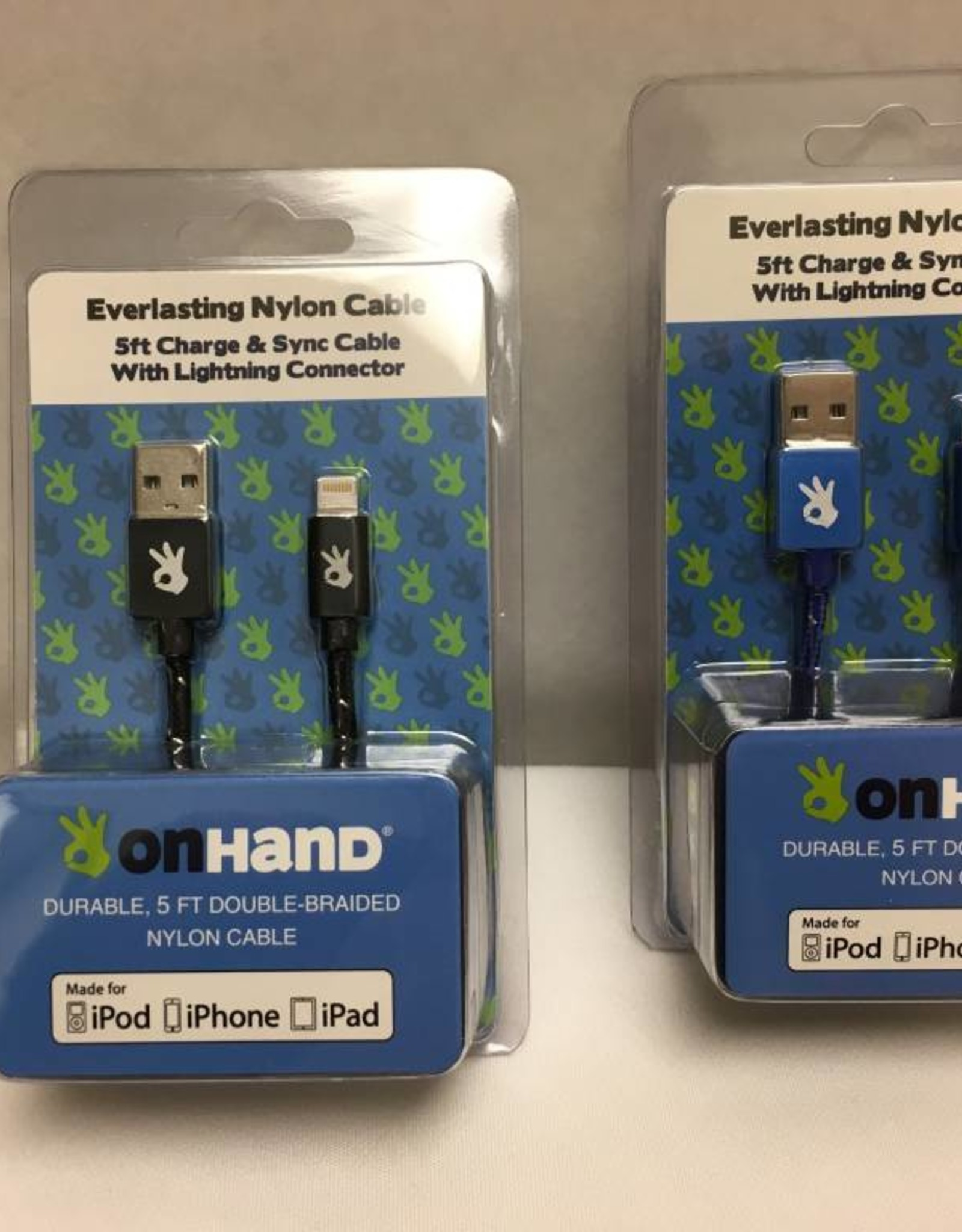 On Hand On Hand USB Cable Apple Blue