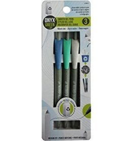 ONXG Onyx Green Pen Smooth Gel (3)