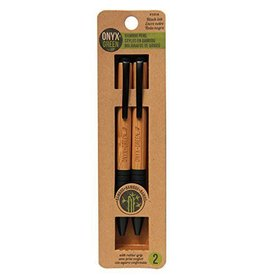 ONXG Onyx Green Pen Set Bamboo
