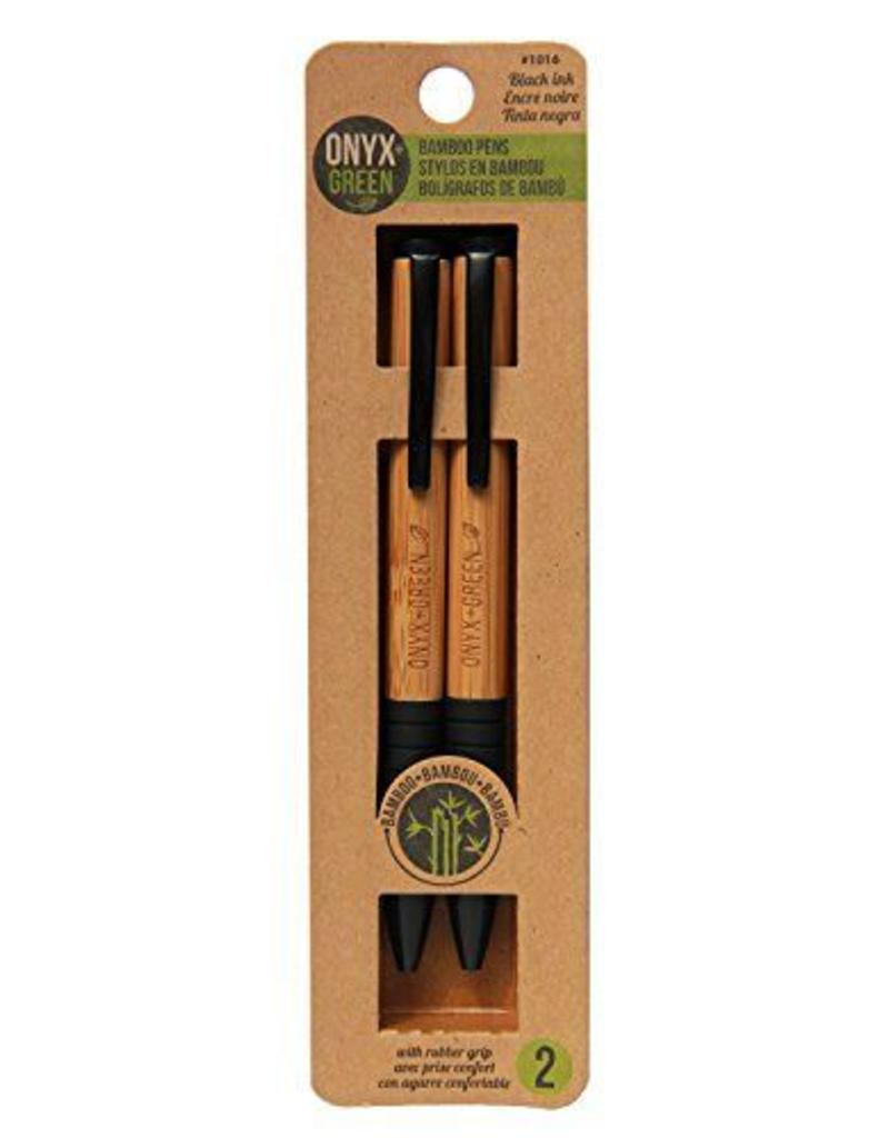 ONXG Onyx Green Pen Set Bamboo