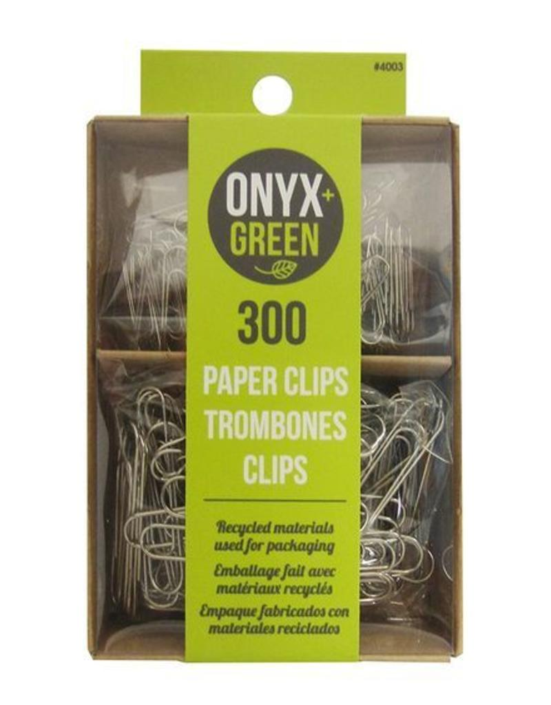 ONXG Onyx Green Paperclip