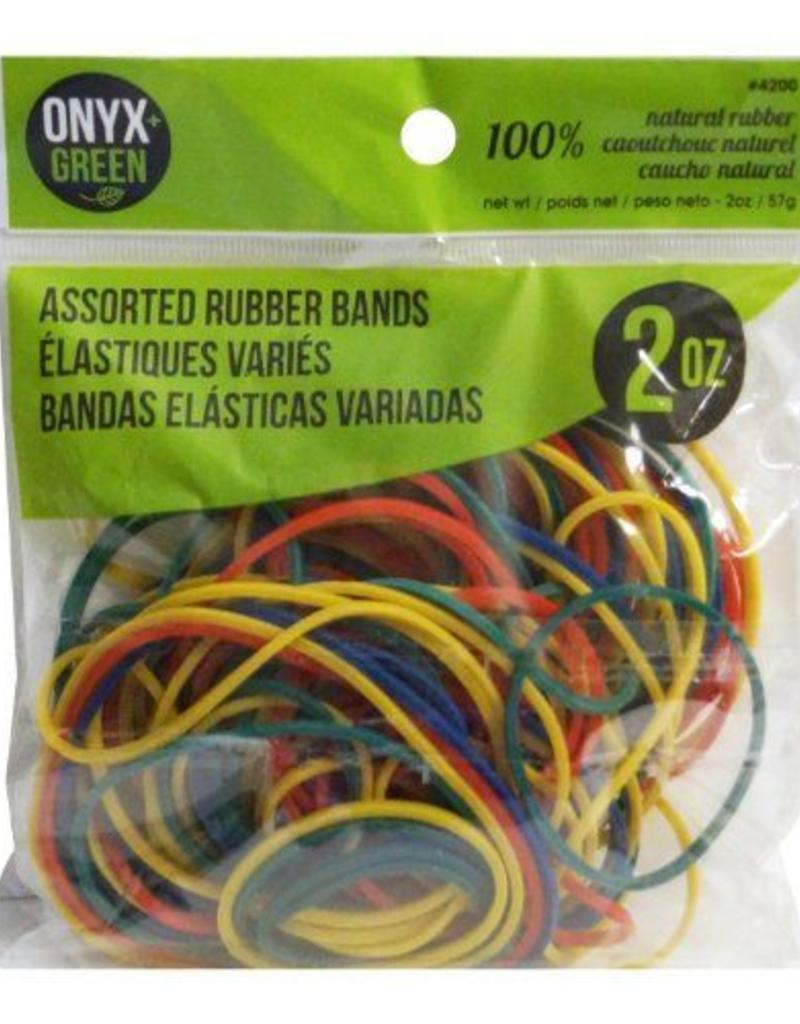 ONXG Onyx Green Rubberbands Assorted