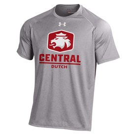 UA UA Tech Tee Lion Logo Gray