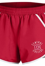 UA UA Ladies Fly By Short red