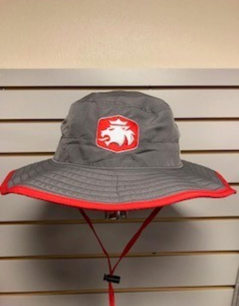 MVSPT MV Sport Bucket Hat Lion Gray