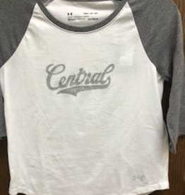 UA UA Girls Baseball tee grey