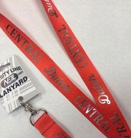 NEIL Neil Foil lanyard red