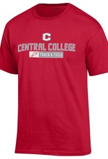 CHAMP Champion Sport Track and Field Tee Red