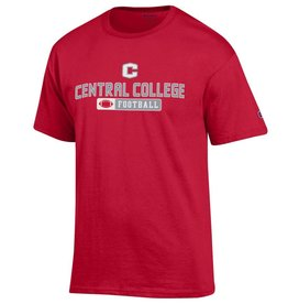CHAMP Champion Football Tee Red