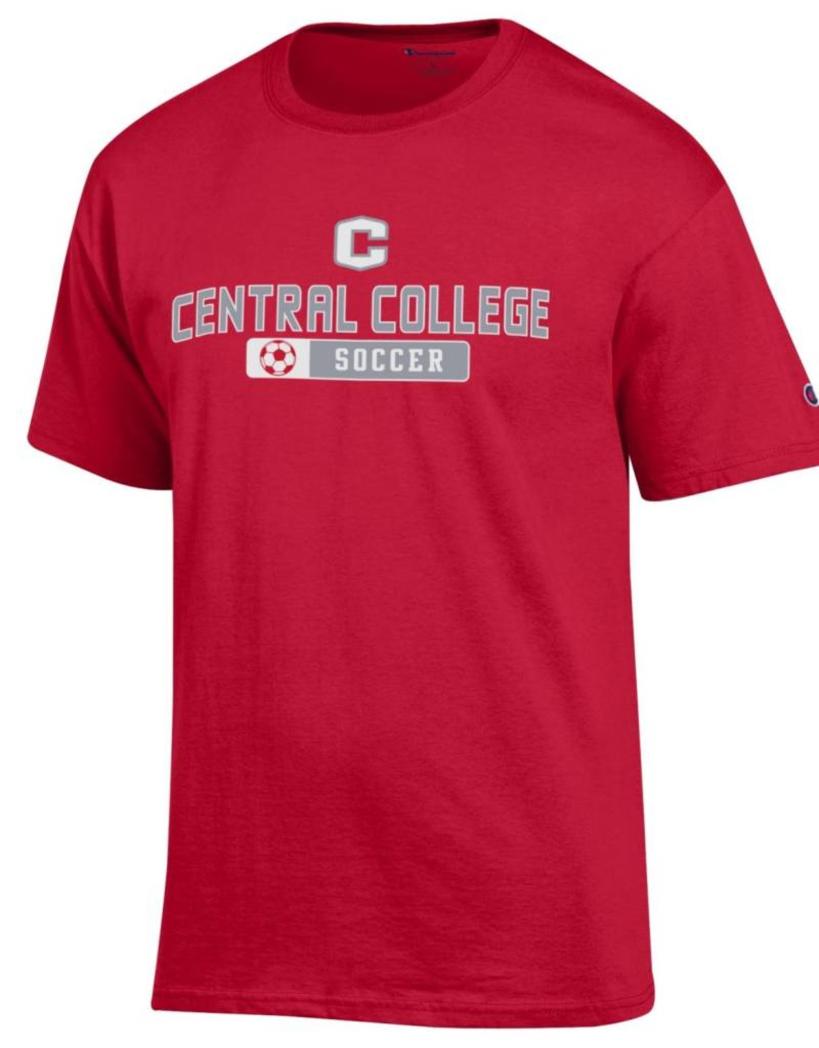 CHAMP Champion Sport Soccer Tee Red