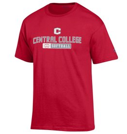 CHAMP Champion Sport Softball Tee Red